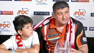 Mensur Suljović: I never give in and I was hoping Gary would!   World Matchplay 2018 Runner Up