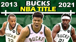 Timeline of GIANNIS' and the BUCKS' NBA CHAMPIONSHIP