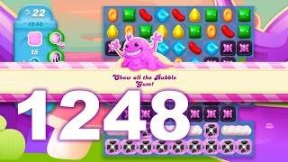 Candy Crush Soda Saga Level 1248 (No boosters)