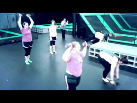 Vertical Aerobics at Flight Deck Trampoline Park