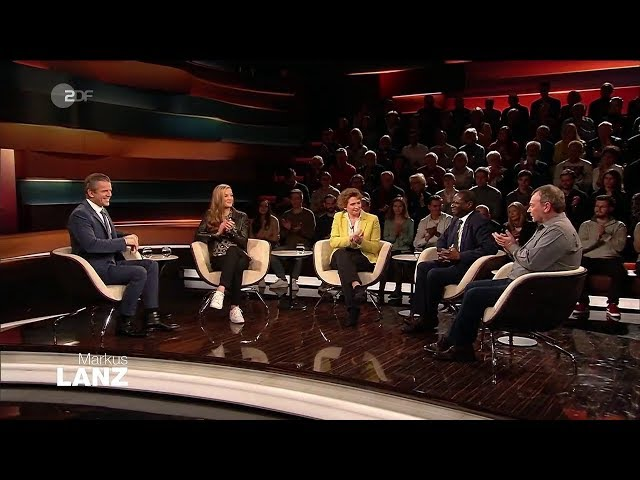 Markus Lanz vom 21  Januar 2020  Nicola Beer,Chantal Bausch,Karamba Diaby,Claus-Peter Reisch !!