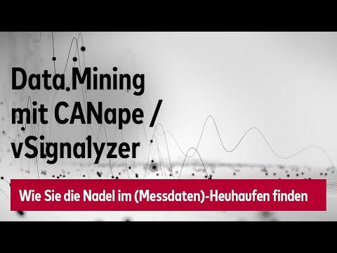 Data Mining Mit CANape/vSignalyzer: Wie Sie Die Nadel Im (Messdaten)-Heuhaufen Finden