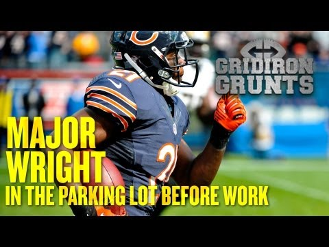 Major Wright Says Hello From the Parking Lot of the Bears