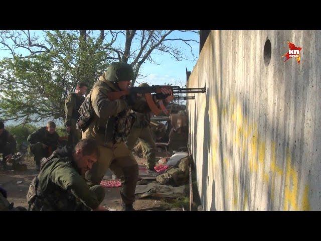Спецкоры КП провели сутки в самой горячей точке Донбасса поселке Широкино
