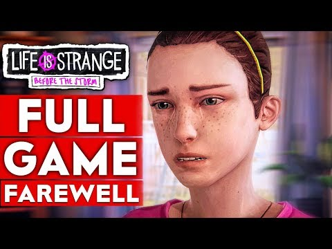 LIFE IS STRANGE BEFORE THE STORM Farewell Gameplay Walkthrough Part 1 FULL GAME - No Commentary