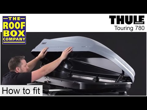 thule roof box touring 780 youtube. Black Bedroom Furniture Sets. Home Design Ideas