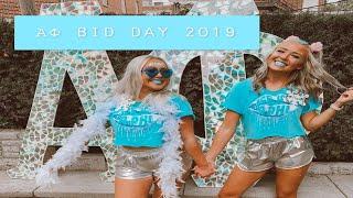 UNL Alpha Phi Bid Day Vlog 2019!!