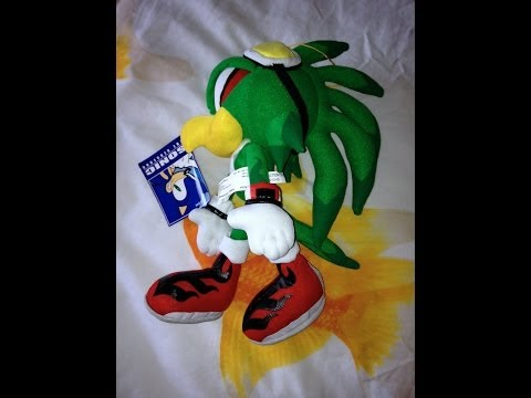 Ge Great Eastern Entertainment Sega Sonic Jet The Hawk Plush Review Youtube