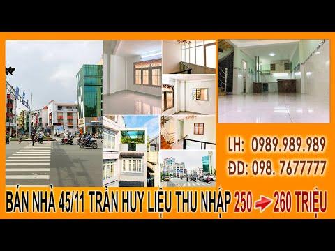 Bán hoặc cho thuê nguyên căn số 45/11 Trần Huy Liệu, P12, Phú Nhuận