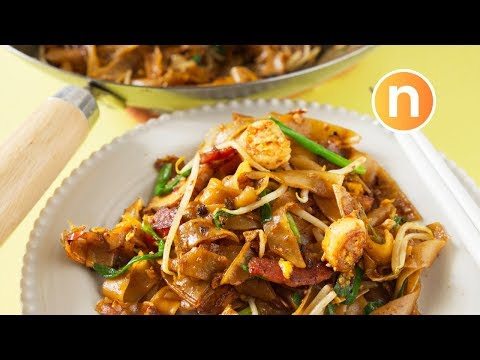 Malaysian Stir-Fried Rice Noodles | Char Kway Teow | Kuey Teow Goreng | 炒粿条 [Nyonya Cooking]