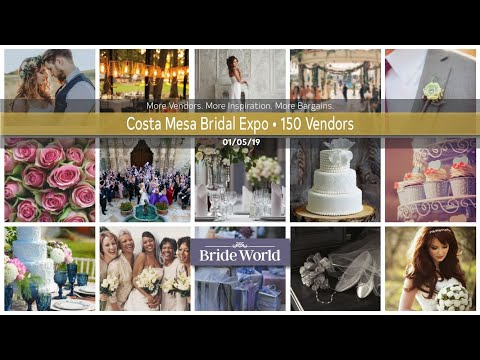 costa-mesa-bridal-show-ocfair-event-ctr.-saturday,-jan.-5th,-2019