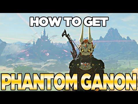How to Get Phantom Ganon in Breath of the Wild, The Champions Ballad | Austin John Plays