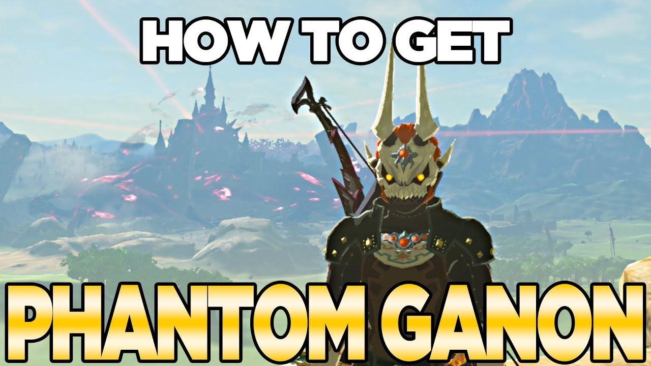 How To Get Phantom Ganon In Breath Of The Wild The Champions Ballad Austin John Plays