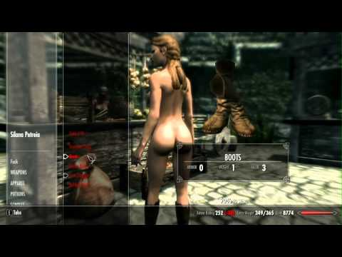 Skyrim (PC): Fun with 100 in pickpocketing from YouTube · Duration:  1 minutes 29 seconds