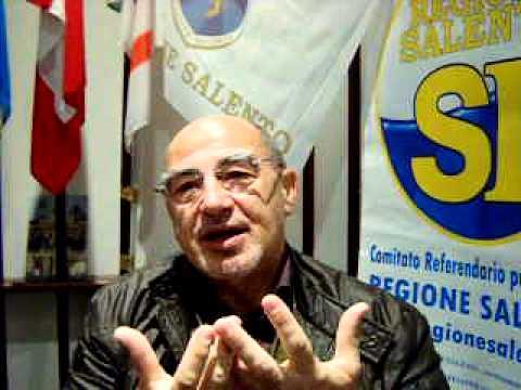 Dichiarazione di Melanton (Antonio Mele) a favore della Regione Salento
