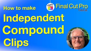 Make Compound Clips an Independent Template - Subclips - Final Cut Pro 1.5.2