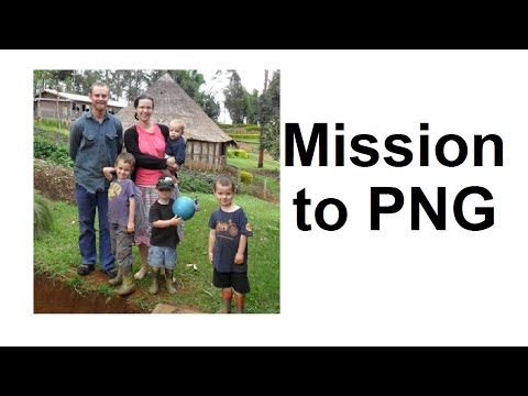 Mission: Papua New Guinea - Missionary Chris Dagan