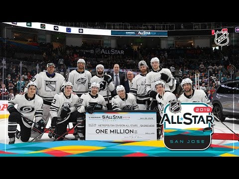 Watch the best moments from the 2019 Honda NHL All-Star Game