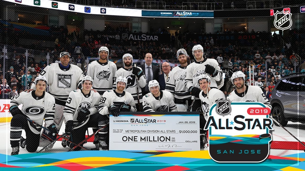 Watch The Best Moments From The 2019 Honda Nhl All Star Game Youtube