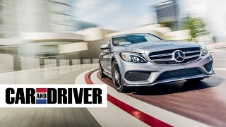 2015 Mercedes C400 4Matic Review in 60 Seconds | Car and Driver