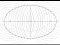 How to draw an ellipse by arcs of circle