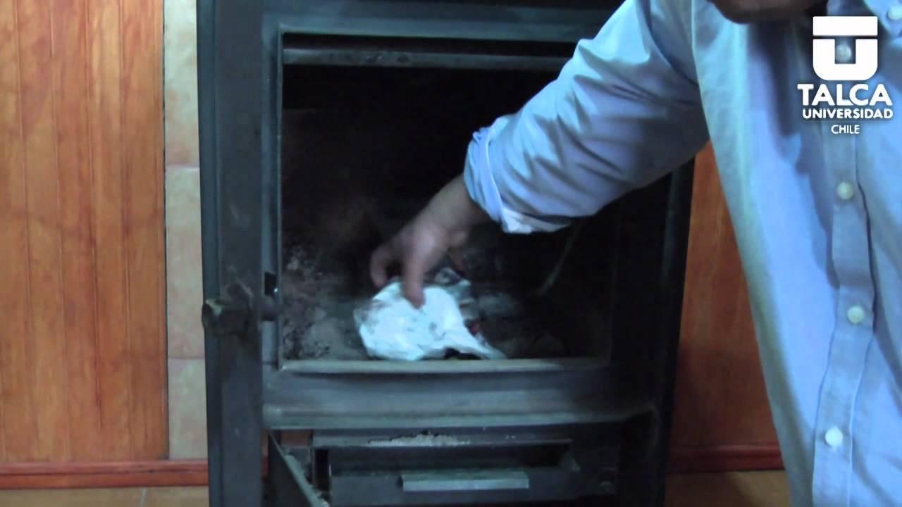 Sabe c mo encender una estufa a le a youtube - Como adaptar una estufa de lena a pellets ...