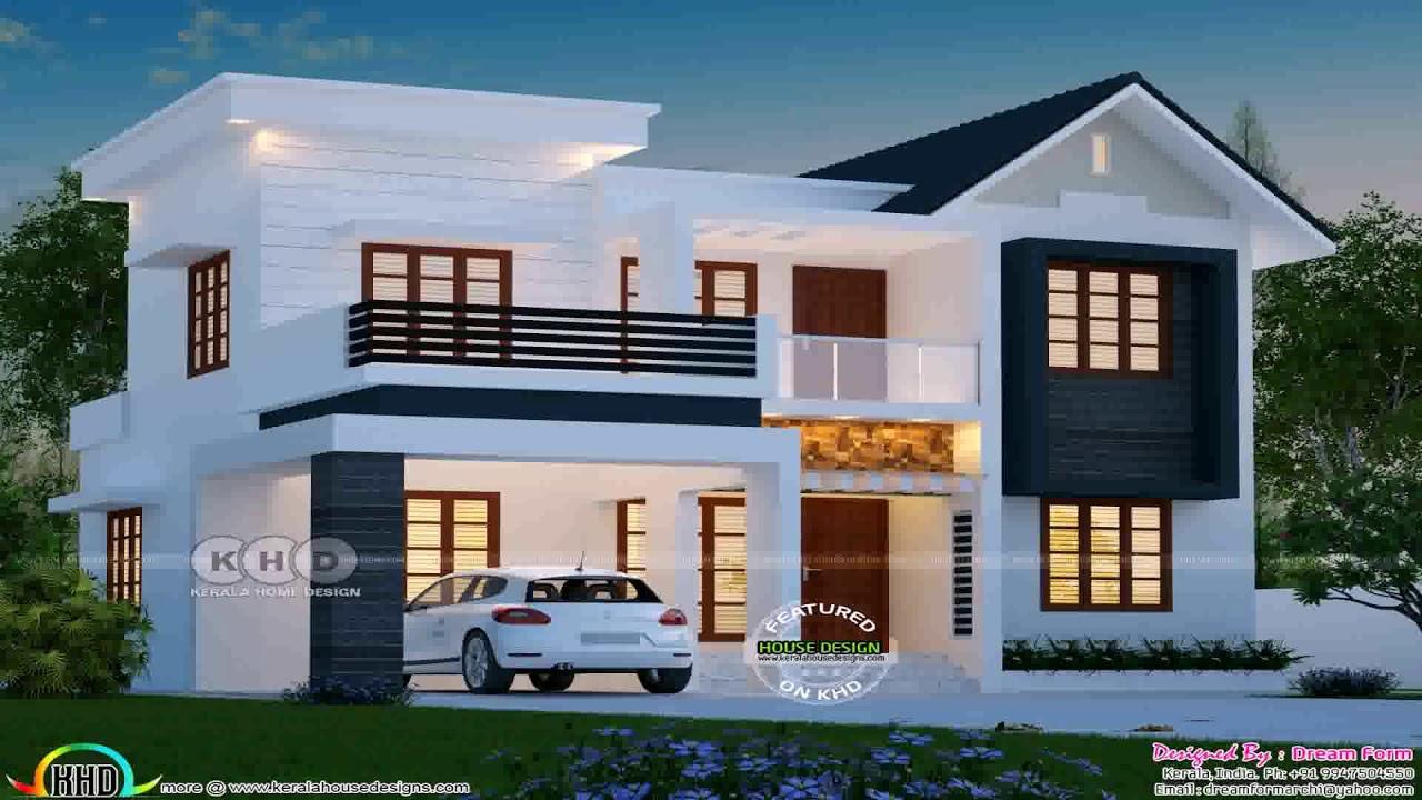 Kerala House Design With Balcony Youtube