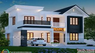 Kerala House Design With Balcony