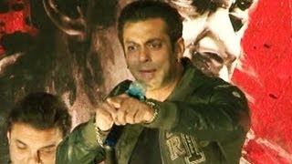 Salman khan gets angry with a reporter at jai ho trailer launch