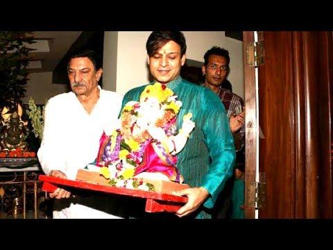 Vivek Oberoi Ganpati Visarjan Aarti & Pooja | Full Video