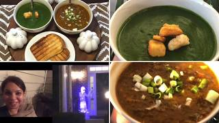 Indian NRI Mom Back To Routine Life After Diwali / 2 Healthy Soup Recipes For Weight Loss