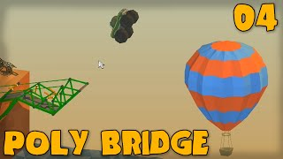 "Poly Bridge Gameplay Part 4 - ""sunday Sunday Sunday!!!"" (bridge Building Game)"