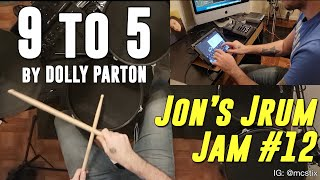 9 to 5 - Dolly Parton - Drum Cover