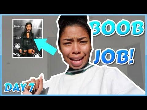 I GOT A BOOB JOB!   VLOGMAS DAY 7