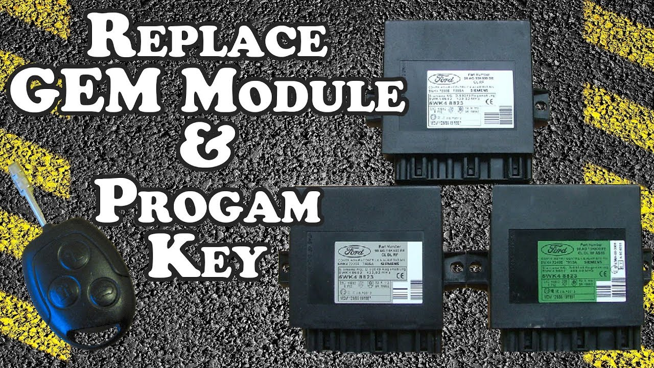 How to Replace GEM Module and Program Remote - 2001 Ford Focus