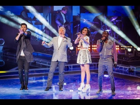 The Coaches Perform 'Beautiful Day' - The Voice UK - Live Shows 1 - BBC One