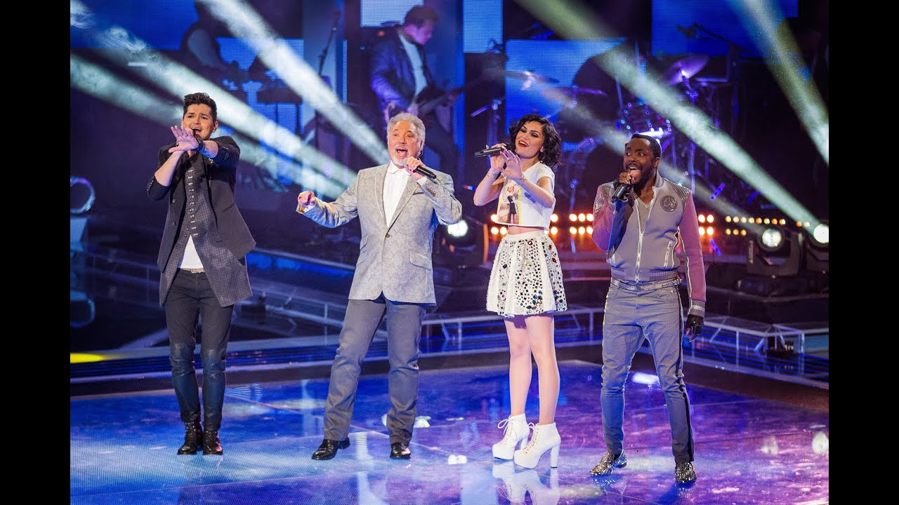 The Coaches Perform  U0026 39 Beautiful Day U0026 39  - The Voice Uk - Live Shows 1 - Bbc One