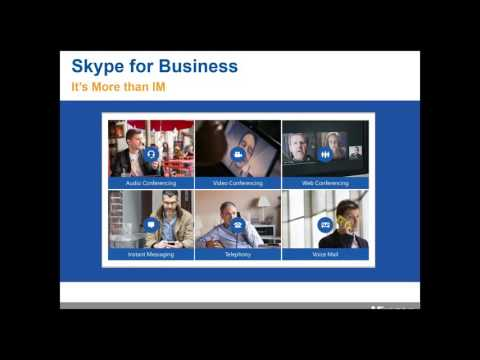 [WEBINAR] The Microsoft Unified Communications Experience