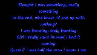 Anthony Hamilton-Pray for me with lyrics