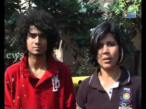 Karnala Tv News 1 Dec  2012 Tejas Karle & Santosh Patil Satkaar Saheb