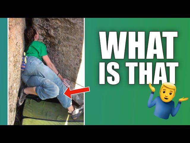 Bizarre drop knee 🤷♂️ (watch until end)