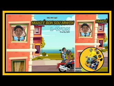 Download L-WON - Manzè bon sou mwen (Official Audio)