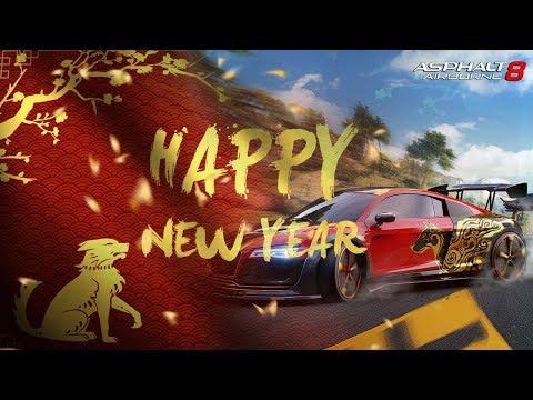 Happy Lunar New Year with Asphalt 8