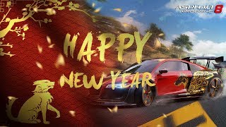 Happy Lunar New Year with Asphalt 8