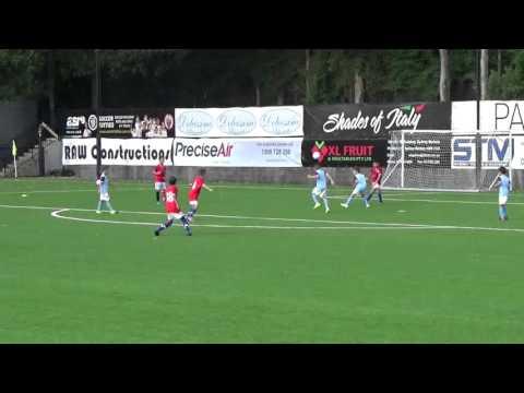 (07/02/2016) APIA Leichhardt vs Sydney United (U9 Trial Game 1)