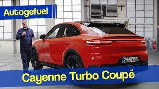 All-new Porsche Cayenne Coupé First Look Cayenne Turbo - Autogefuel