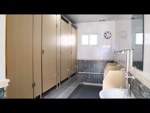 Lida Group Steel Container House Sample Display