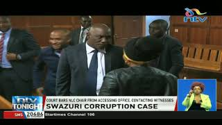 Court bars NLC chair. Mohammed Swazuri from accessing office, contacting witnesses