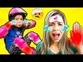 Heloísa e Mamãe e a história do machucado dodói ♥ THE BOO BOO SONG STORY with mommy
