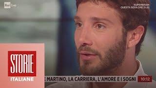 Stefano De Martino: la carriera, l'amore e i sogni - Storie italiane 25/01/2019